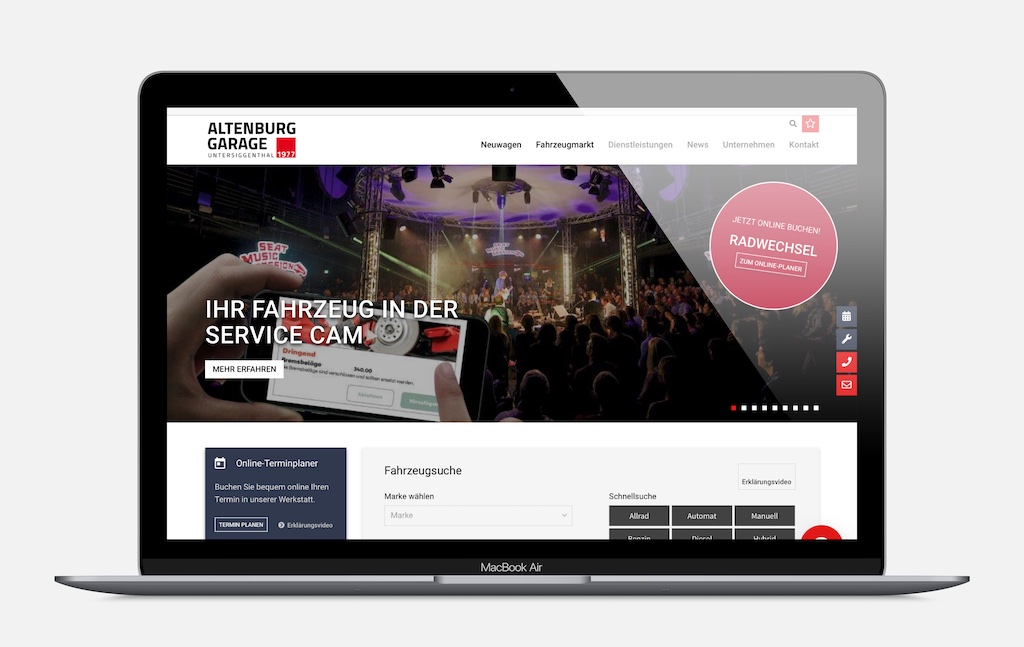 Altenburg-Garage AG – Untersiggenthal