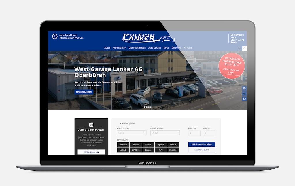 West-Garage Lanker AG - Oberbüren